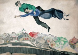 marc_chagall_over_the_town_1914_18